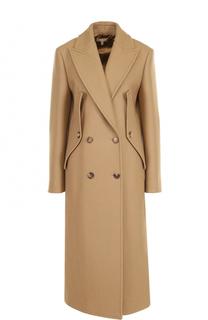 Шерстяное двубортное пальто Michael Kors