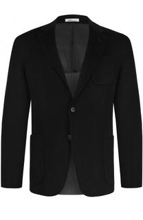 Кашемировый однобортный пиджак Armani Collezioni
