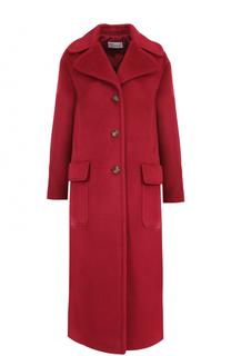 Пальто свободного кроя с накладными карманами REDVALENTINO