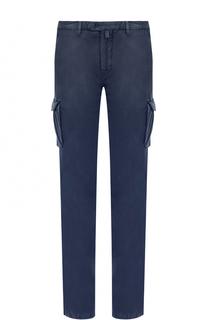 Хлопковый брюки карго Kiton