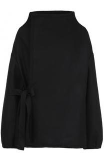 Шерстяная куртка свободного кроя с запахом Yohji Yamamoto