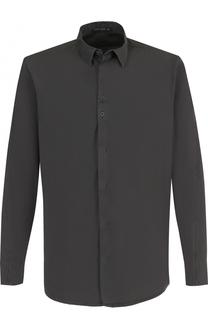 Хлопковая рубашка с воротником кент Transit