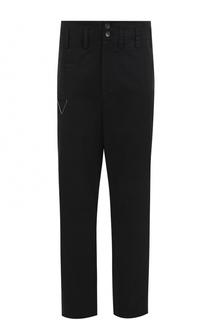 Хлопковые брюки прямого кроя Damir Doma