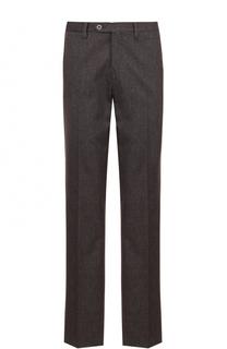 Хлопковые брюки прямого кроя Germano