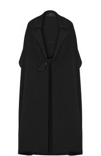 Пальто свободного кроя с укороченным рукавом Yohji Yamamoto