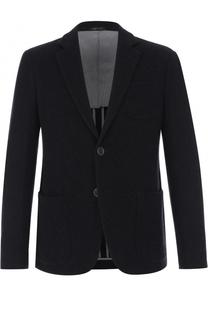 Кашемировый однобортный пиджак Giorgio Armani
