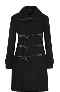 Шерстяное пальто-дафлкот Yohji Yamamoto
