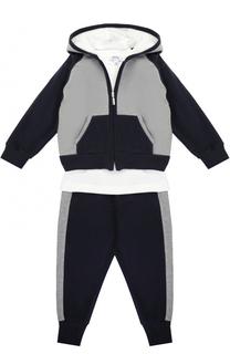 Комплект из спортивного костюма и лонгслива с вышивкой Aletta