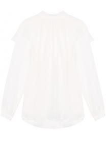 Шелковая полупрозрачная блуза с воротником аскот Dorothee Schumacher