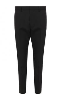 Шерстяные зауженные брюки Dsquared2