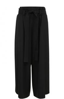 Укороченные широкие брюки с поясом Yohji Yamamoto