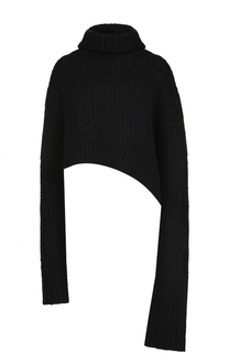 Шерстяной свитер асимметричного кроя Ann Demeulemeester
