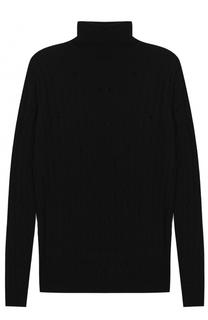 Шерстяной свитер фактурной вязки Damir Doma