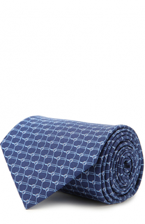 Шелковый галстук с принтом Brioni