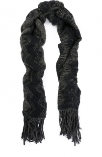 Вязаный шарф с бахромой Isabel Benenato