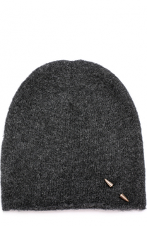 Вязаная шапка с брошью Isabel Benenato