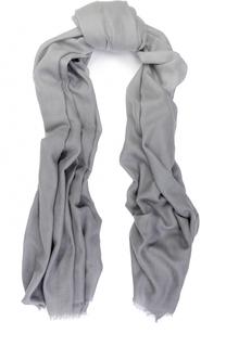 Шерстяной шарф с градиентным рисунком Armani Collezioni