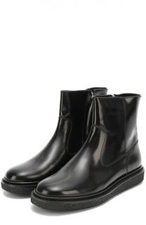 Кожаные ботинки на массивной подошве Isabel Marant Etoile