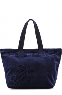 Пляжная сумка с вышивкой Vilebrequin