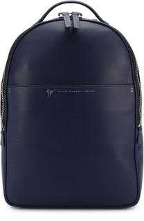 Кожаный рюкзак на молнии Giuseppe Zanotti Design