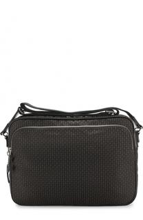 Текстильная сумка-планшет с принтом Alexander McQueen