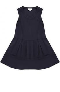 Однотонное платье джерси без рукавов Aletta