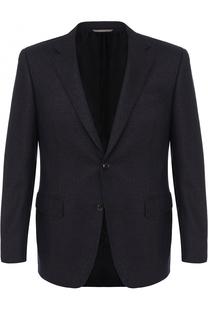 Кашемировый однобортный пиджак Canali