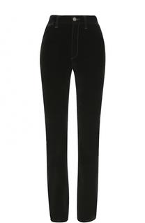 Однотонные брюки с завышенной талией Marc Jacobs