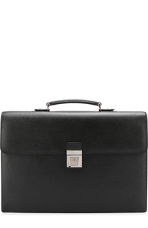 Классический кожаный портфель Serapian