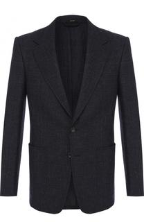 Шерстяной однобортный пиджак Tom Ford