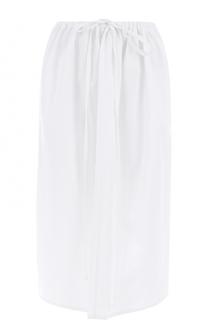Хлопковая юбка-миди с эластичным поясом Atlantique Ascoli