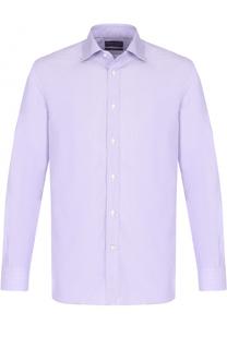 Хлопковая сорочка с воротником кент Ralph Lauren