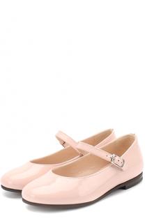 Лаковые туфли с ремешком Il Gufo