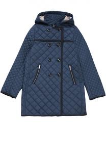 Стеганое пальто с капюшоном Burberry