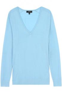 Пуловер прямого кроя с V-образным вырезом Theory