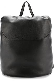 Кожаный рюкзак с клапаном The Row