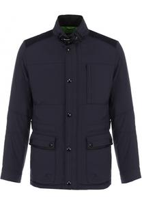 Пуховая куртка с воротником-стойкой Bogner