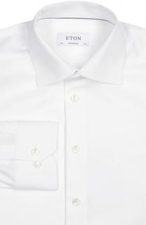 Полуприталенная сорочка с воротником кент Eton