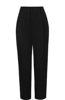 Укороченные брюки с завышенной талией Lanvin