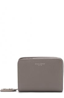 Кожаное портмоне с логотипом бренда Saint Laurent