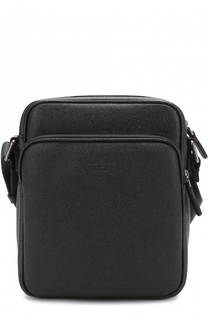 Кожаная сумка-планшет Giorgio Armani