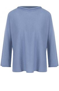 Кашемировый пуловер свободного кроя Armani Collezioni