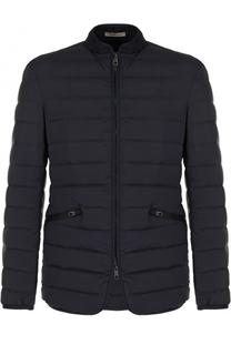 Стеганая куртка на молнии Armani Collezioni