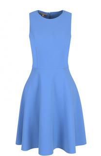 Приталенное мини-платье без рукавов Michael Kors