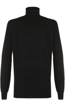 Шерстяной свитер фактурной вязки Rick Owens