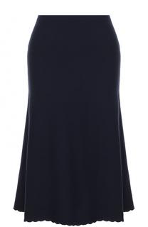 Шерстяная юбка-миди Victoria Beckham