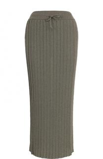 Вязаная плиссированная юбка-миди Paul&Joe Paul&Joe