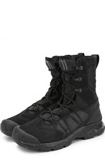 Высокие комбинированные кроссовки на шнуровке 11 by Boris Bidjan Saberi