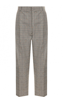 Укороченные шерстяные брюки с защипами Paul&Joe Paul&Joe