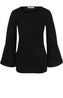 Шерстяной пуловер с расклешенными рукавами Dorothee Schumacher